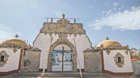 Templo a Juan Diego sigue en obra negra