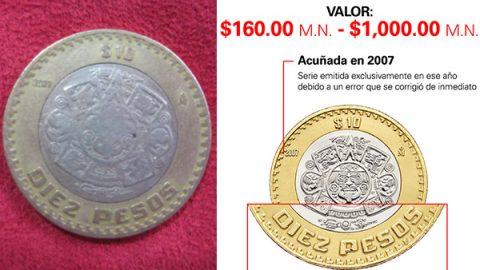Bancos emiten recomendaciones por furor hacía las monedas de 10 pesos