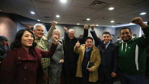 Integran MORENA, PT y PES coalición electoral en Nuevo León