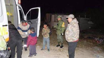 Ejército y Protección Civil de Juárez realizan operativos por bajas temperaturas