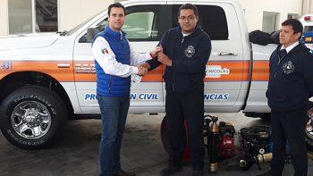 Entregan unidad de rescate en San Nicolás