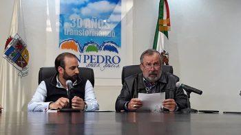 Confirma Mauricio que buscará reelección en San Pedro