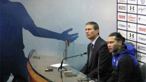 Al 'Gullit' le leyeron la cartilla en Cruz Azul