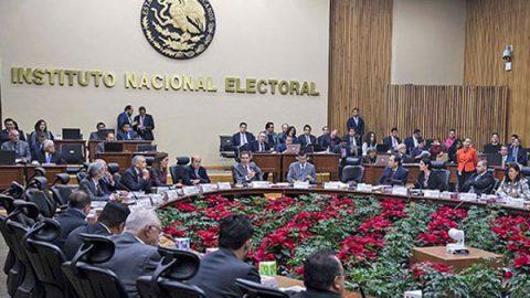 Llama INE a funcionarios a respetar la ley ante elecciones