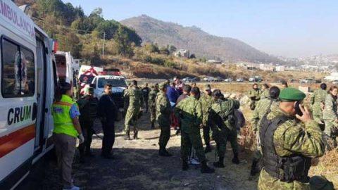 Vuelca camión del Ejército en Morelia; hay un muerto y 23 heridos