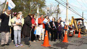 Mejora San Nicolás pavimento en colonia Chapultepec