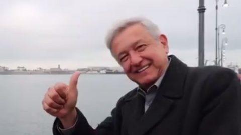 VIDEO: 'Ahora soy AndresManuelovich'; se burla AMLO de sus detractores