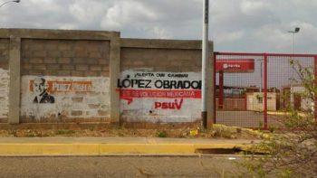 Morena denuncia 'guerra sucia' en Venezuela contra López