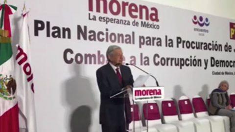 AMLO presenta ternas para fiscalía general, anticorrupción y electoral