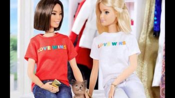 Barbie se solidariza con jóvenes de la comunidad lésbico-gay