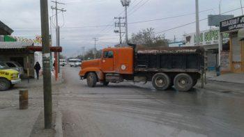 Liberan bloqueos en 10 vialidades de Reynosa