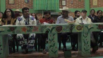 Representantes indígenas exigen al INE garantizar acceso al Congreso