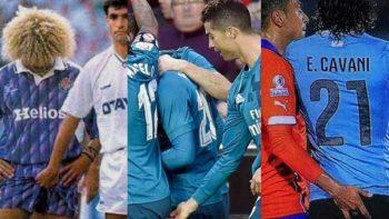 Los históricos 'dedazos' entre futbolistas
