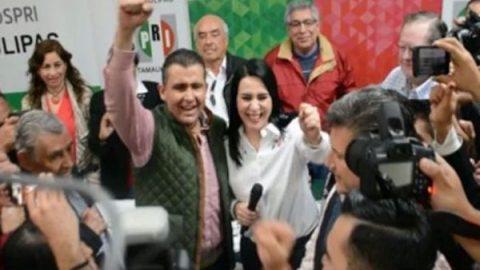 Aspirantes a legisladores federales de PRI se registran en Tamaulipas