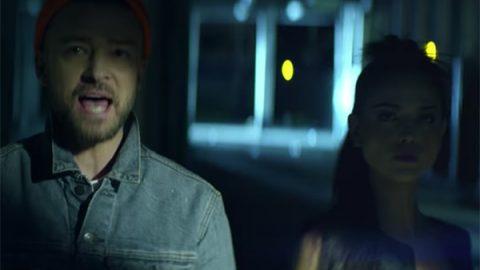Eiza, se 'come' a besos a Justin Timberlake