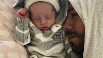 Enrique Iglesias muestra rostro de uno de sus hijos