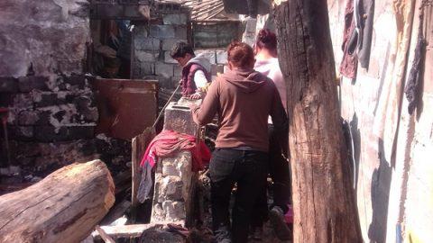 El DIF Monterrey entregó apoyos a familias afectada por incendio