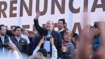 Oficializa Fausto Vallejo su renuncia al PRI