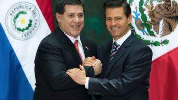 Peña Nieto inicia en Paraguay visita oficial