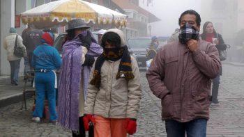Temperaturas de -4 grados por frente frío 24 en Sonora