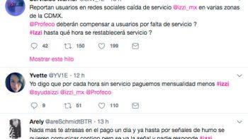 Usuarios 'truenan' en Twitter por fallas de Izzi