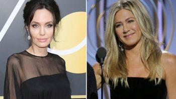¿Qué pasó entre Jolie y Aniston en los Globos de Oro?