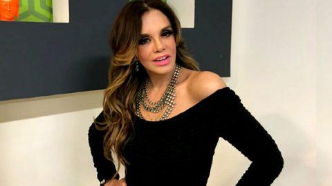 Lucía Méndez celebra su cumpleaños con música e invitados