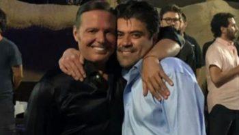 'El Burro' Van Rankin se reencuentra con Luis Miguel