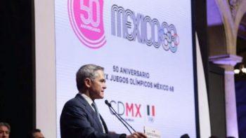 Alistan festejo por 50 aniversario de Juegos Olímpicos de México 1968