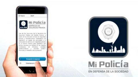 Personal del INE podrá pedir auxilio mediante la app Mi Policía