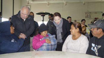 Activa Matamoros refugio temporal en la alberca Chávez