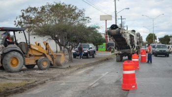 Arranca rehabilitación de la avenida División del Norte
