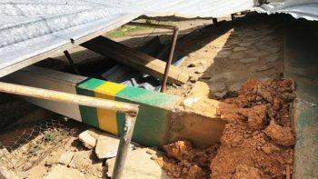 Fuertes vientos dañan siete escuelas en Oaxaca