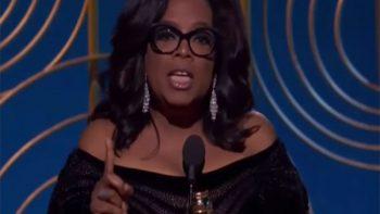 Se les acabó el tiempo: Oprah Winfrey