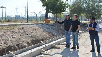 Supervisa alcalde de García avances en obras públicas