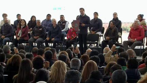 'No permitamos que competencia democrática nos divida', dice EPN