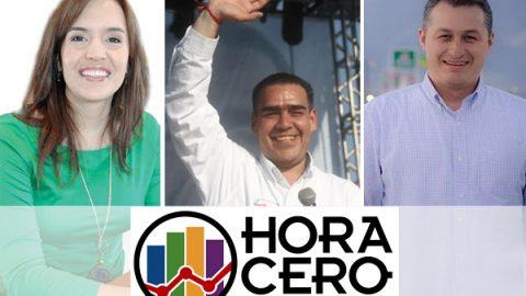 Hora Cero Encuestas: García, Juárez y Escobedo sin cambios; AMLO puntea en dos