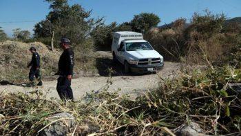 Hallan un cuerpo calcinado en Santa Catarina, Nuevo León