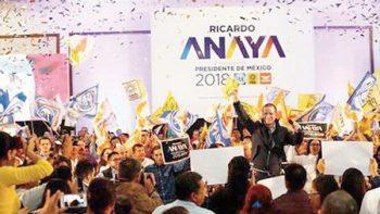 Pide Anaya a EPN que se mantenga al margen del proceso electoral