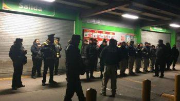 Suman 11 detenidos por intentos de saqueo en Ecatepec
