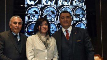 Extirpan tumor cerebral 'gigante' a mujer de 39 años