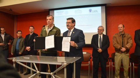 Firman convenio de colaboración UANL y Profepa