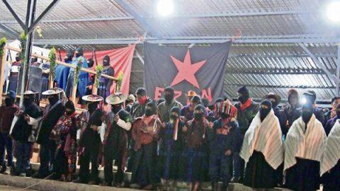 EZLN niega haber aceptado 'un primer diálogo' con AMLO