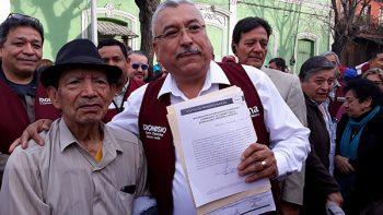 Oficializan candidatura de Dionisio Herrera en SC