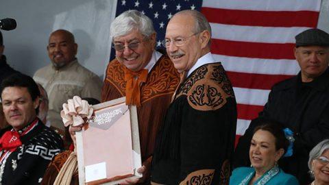 Saludo binacional Matamoros-Brownsville por la fraternidad de los pueblos
