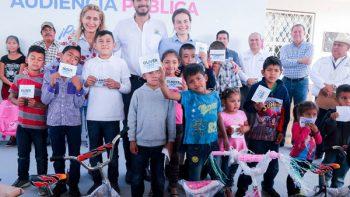 Más de 350 beneficiados en ejidos de Reynosa