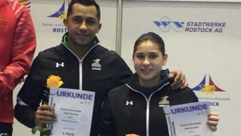 Abren clavadistas mexicanos con podio en Grand Prix de Rostock