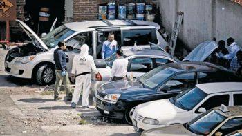 Aumenta 84 por ciento robo de autos en el país