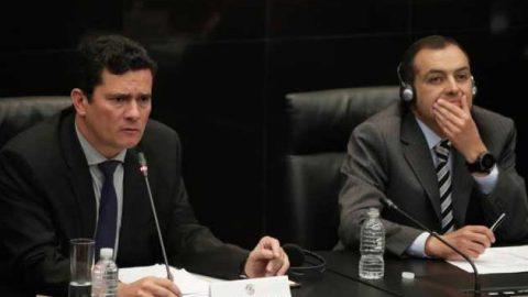 Interrumpen conferencia de juez brasileño de caso Petrobras