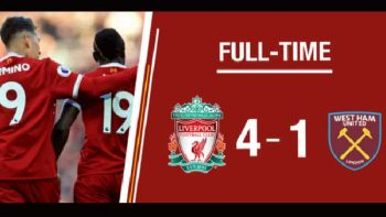 Liverpool golea al West Ham; Hernández jugó 7 minutos